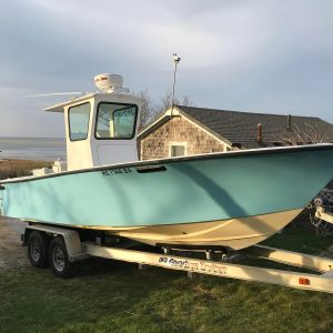Cape Cod Bay Outfitters charter fishing boat